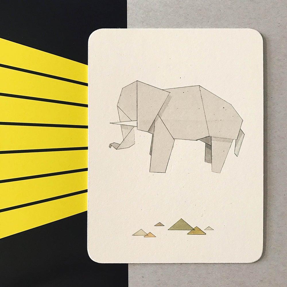 Image of Origami Elephant