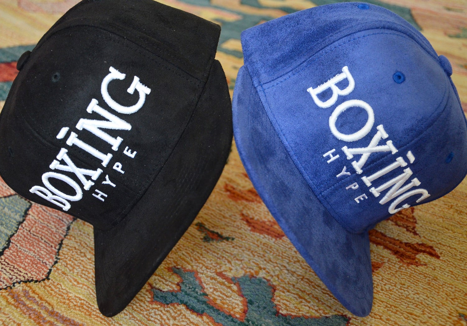 Image of Royal Blue Suede SnapBacks