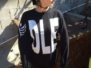 Image of DLE Long Logo Sleeve T