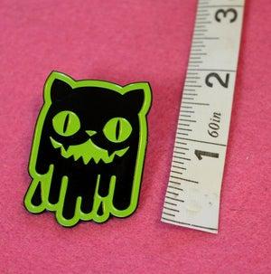 Image of Slime Cat Enamel Pins