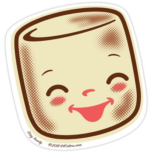 Image of Marshall Stay Toasty Sticker