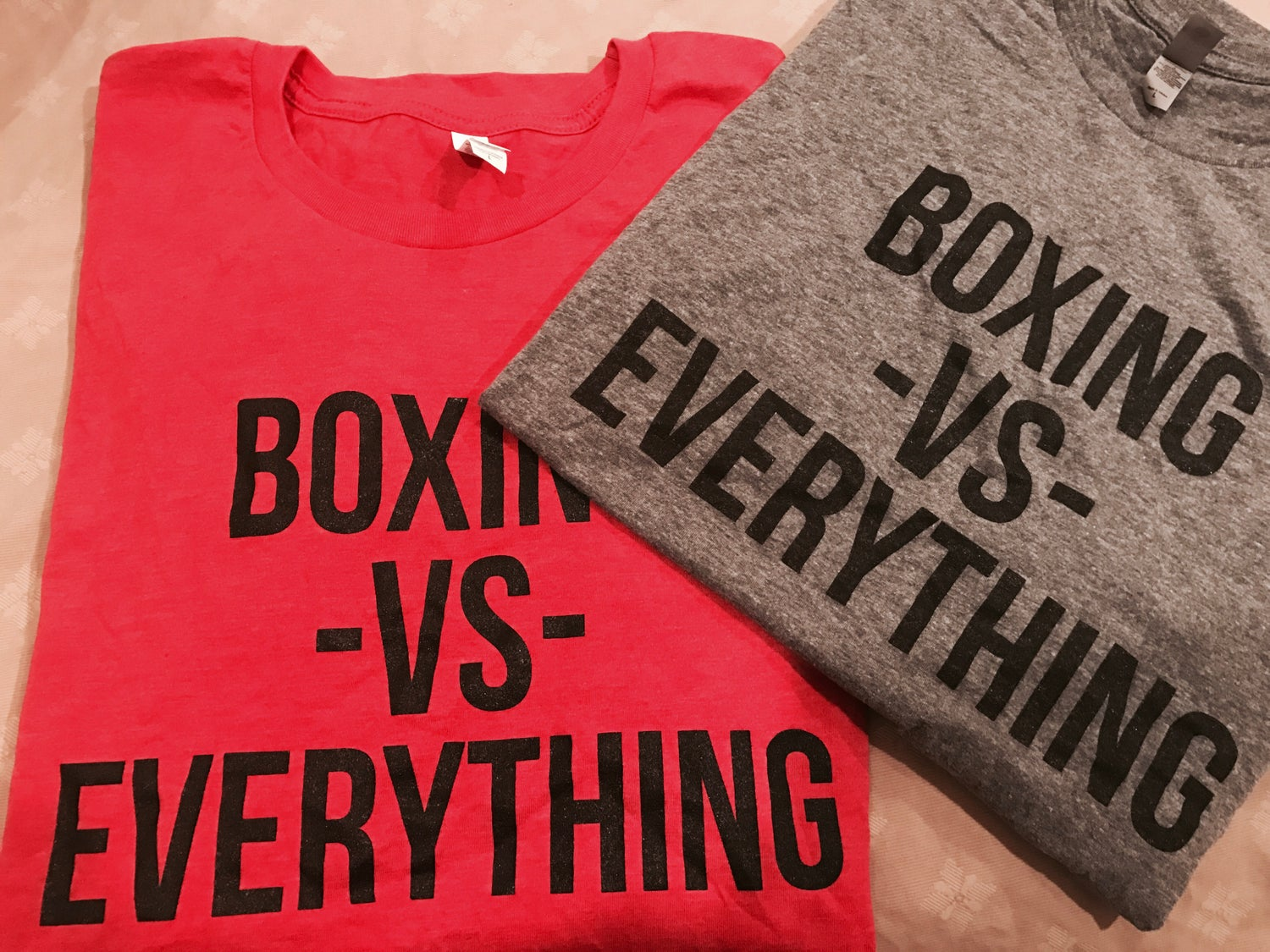 Image of Mens Boxing Vs Everything tees (3 Colors)
