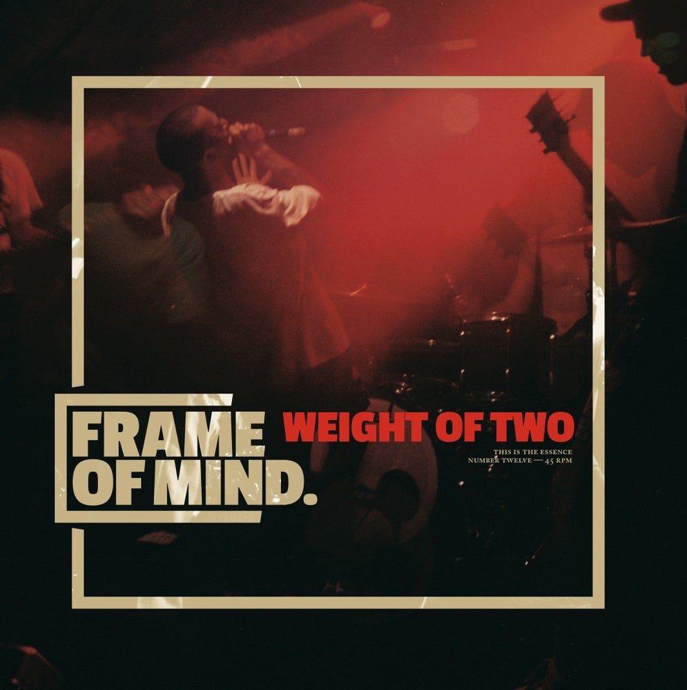 "Image of FRAME OF MIND ""Weight of Two"" 7""EP"