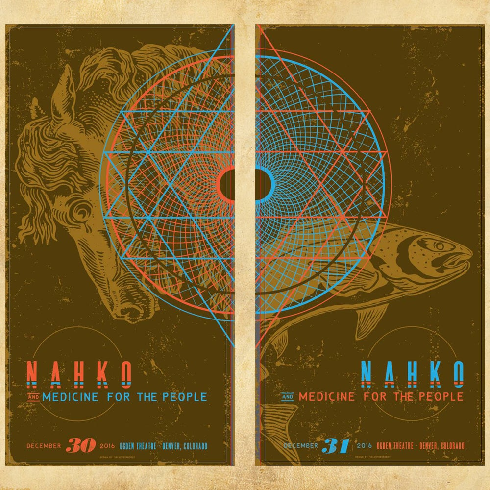 Image of Nahko - Limited Edition NYE 2016 Posters