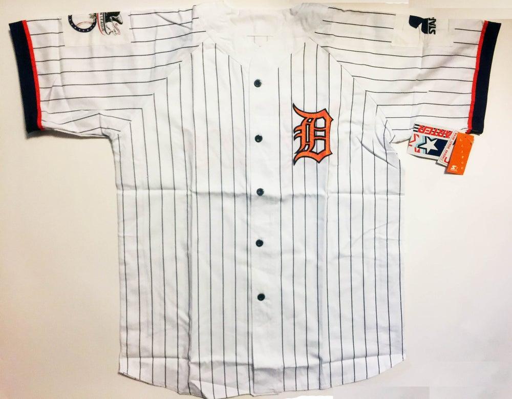Image of Vintage Deadstock Detroit Tigers Starter Baseball Jersey