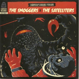"""Image of 2 X 7"""" Smoggers & Satelliters : Chaputa Double Feature Vol 2."""