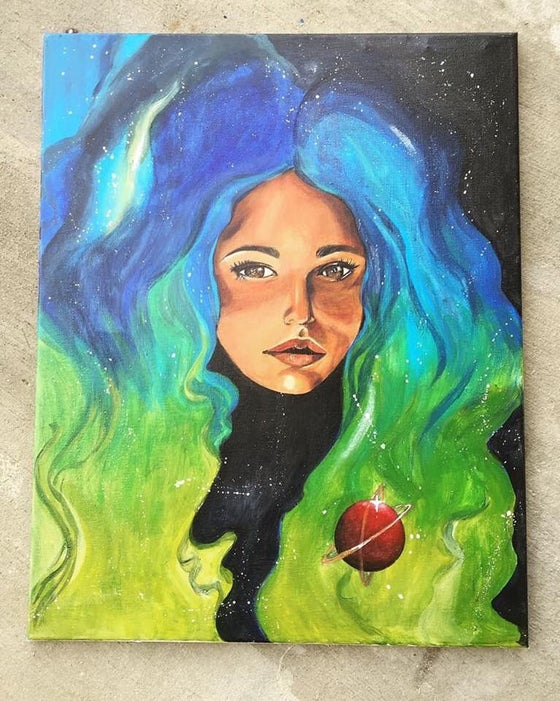Image of Galaxy Girl