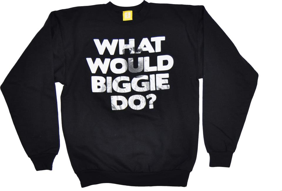 Image of WhatWould Biggie Do?   Crewneck