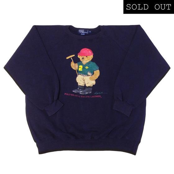 Image of Polo Ralph Lauren Polo Bear Sweatshirt '93