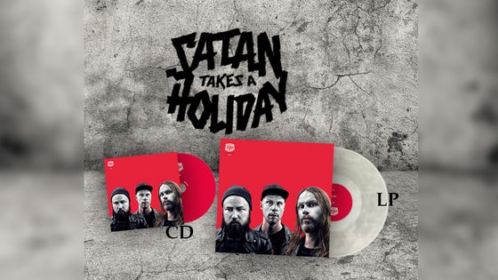 Image of The Great Satan Pack: Satan Takes A Holiday - Aliens (CD and LP-package)