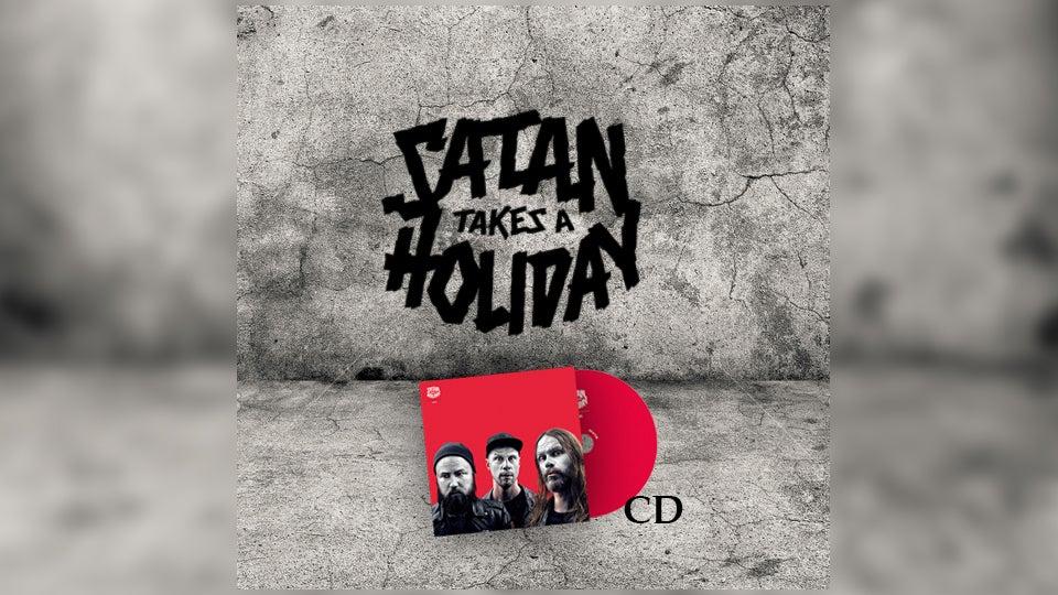 Image of The Satan Pack: Satan Takes A Holiday - Aliens (CD)
