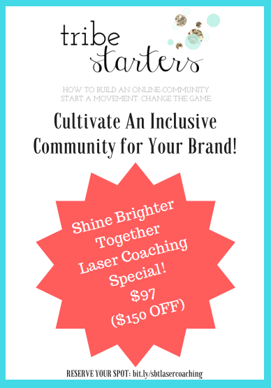 Image of Shine Brighter Together - Laser Coaching Special