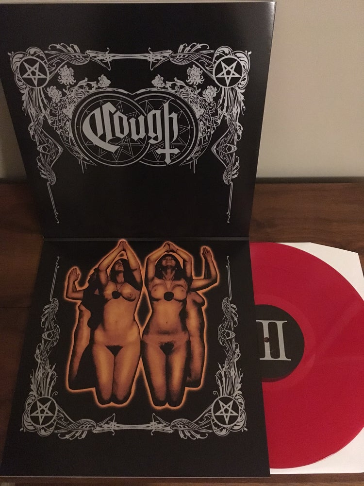 "Image of Cough - ""Sigillum Luciferi"" 2xLP (Blood Red)"