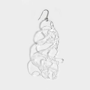 Image of Doodle Earring - transparent II