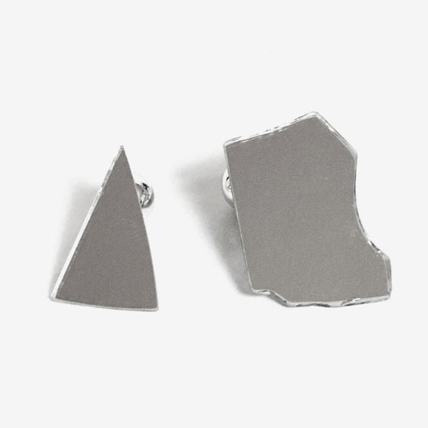 Image of Mirror Earring - large III