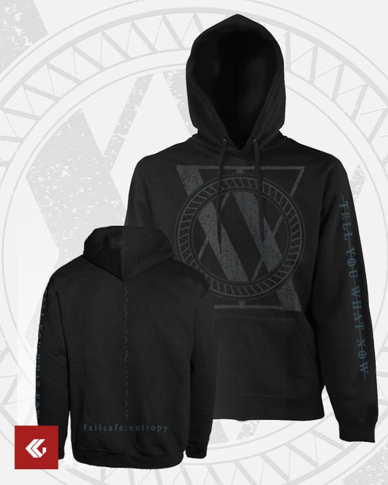 "Image of HOODIE ""Failsafe : Entropy"" black"