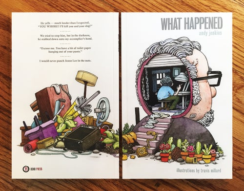 Image of WHAT HAPPENED : Bend Press #25