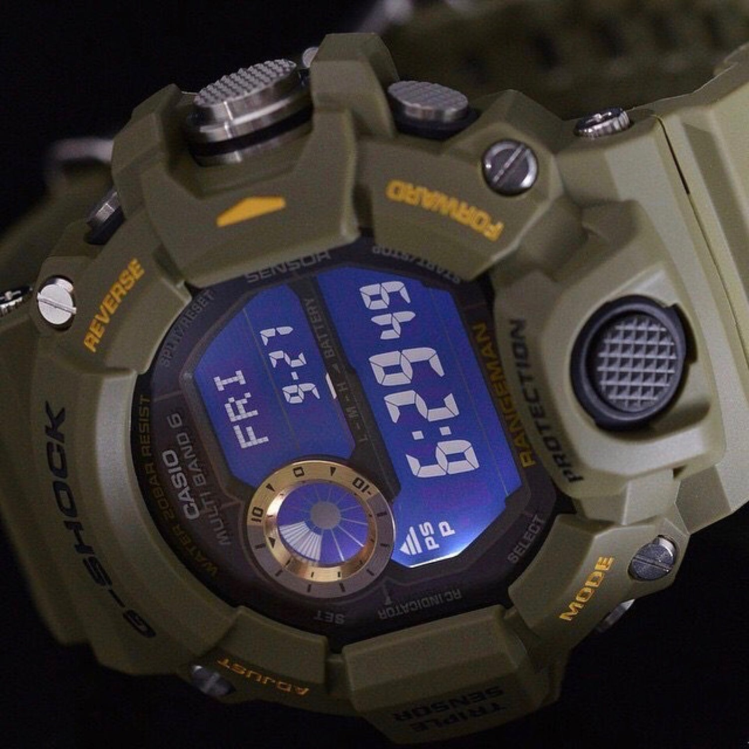 Image of Triple Sensor G-Shock Rangeman