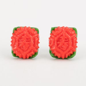 Image of Ang Ku Kueh Ear Studs
