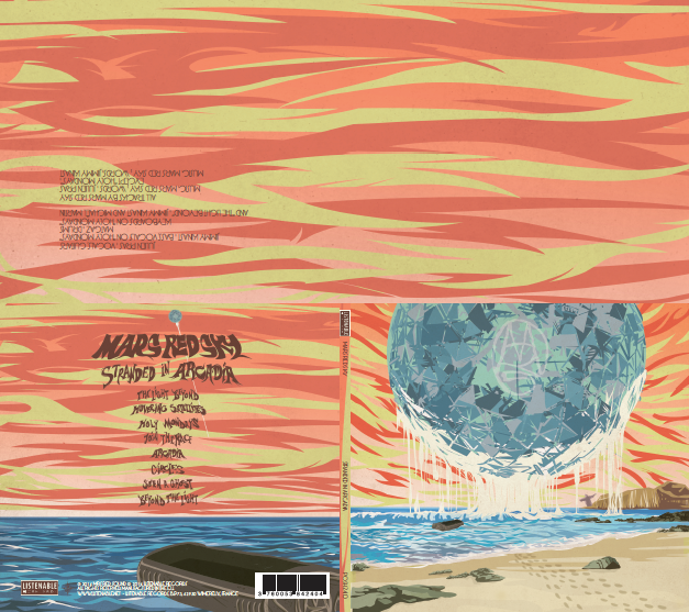 "Image of Album 2 / CD ""Stranded In Arcadia"" + Mini Poster"