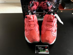 "Image of end x reebok instapump fury ""salmon"", brand new"