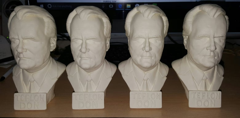 Image of TEFLON DON LIMITED EDITION STATUE
