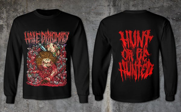 "Image of Hate Diplomacy | ""HUNT OR BE HUNTED"" 