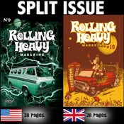 Image of Rolling Heavy Magazine Issue #009-#010 Split Issue