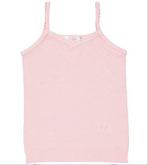 Image of GIRLS HEARTS CAMISOLE White, Blue, Pink, Heather Grey