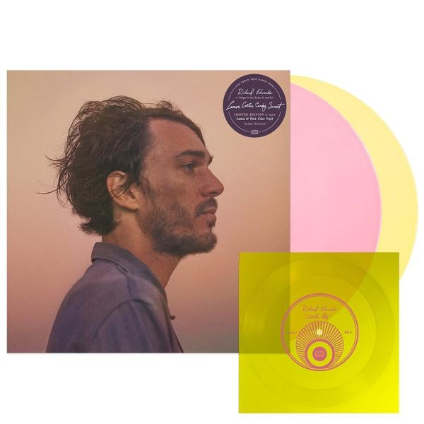 Image of LP - Lemon Cotton Candy Sunset - Limited Edition Colored Vinyl + Bonus Flexi