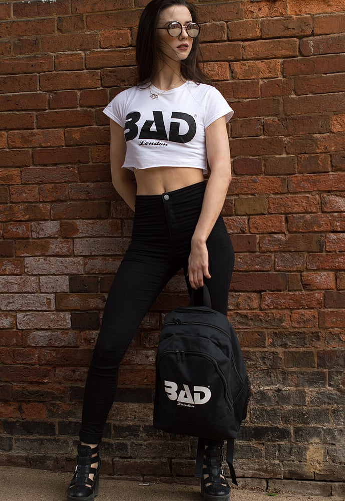 Image of Premium Unisex Backpack by Bad Clothing London Urban Street wear and fitness fashion