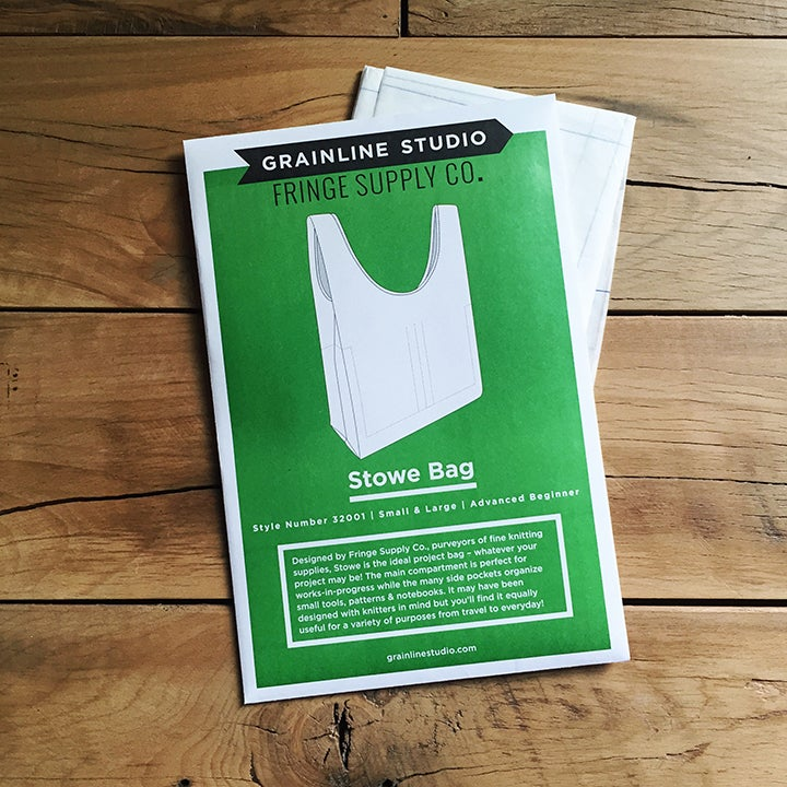 Image of Stowe Bag sewing pattern