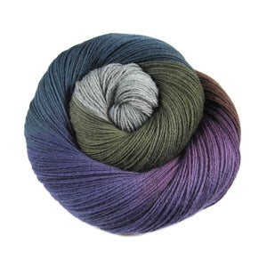 Image of Handpainted - Pakokku Sock Yarn - 'Moriarty'