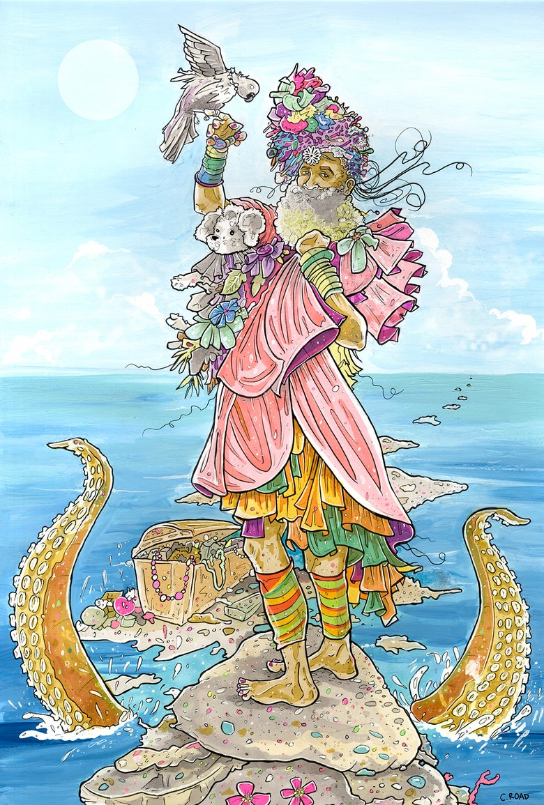 Image of NEXT WORLD TAROT: The Queen of Cups