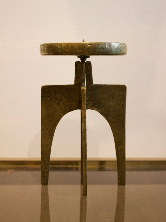 Image of Brutalist Candlestick, Germany 1950s
