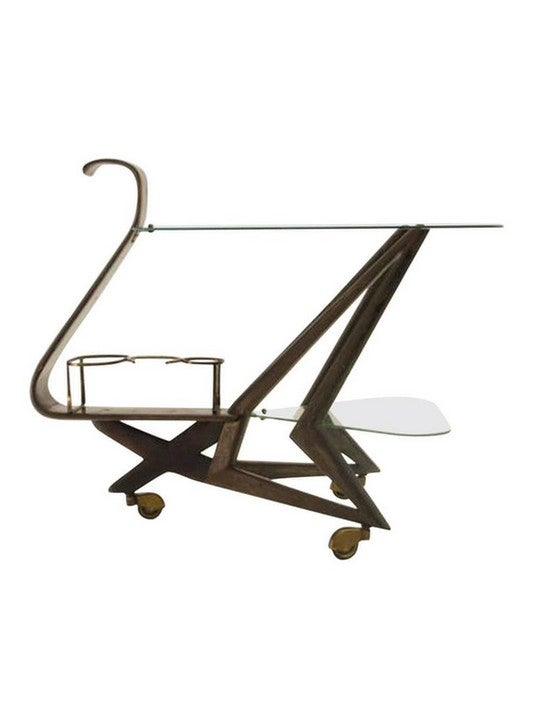 Image of Bar Trolley in the Style of Cesare Lacca, Italy 1950s