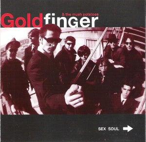 "Image of Goldfinger & The Mush Potatoes ""Sex Soul"" CD"