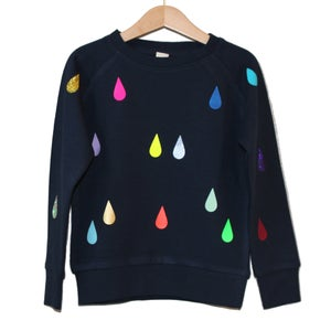 Image of Sweater drops navy