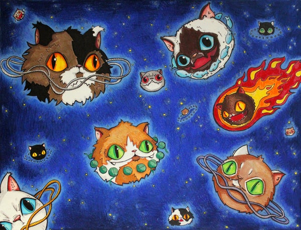 Image of Meowniverse Prints