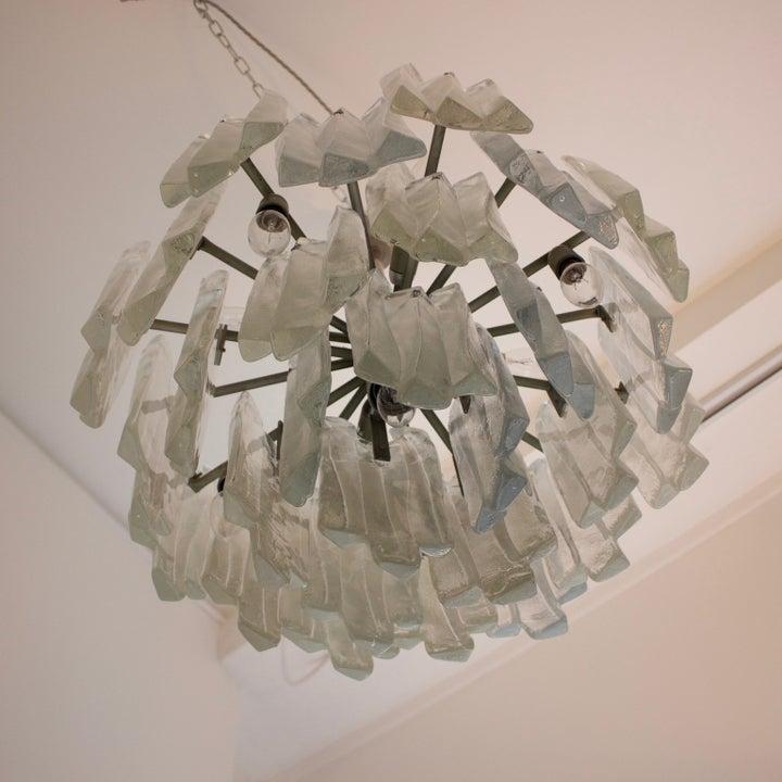 Image of Kalmar Glass Chandelier