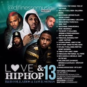 Image of LOVE & HIP HOP MIX VOL. 13 (HIP-HOP/R&B COLLABOS)