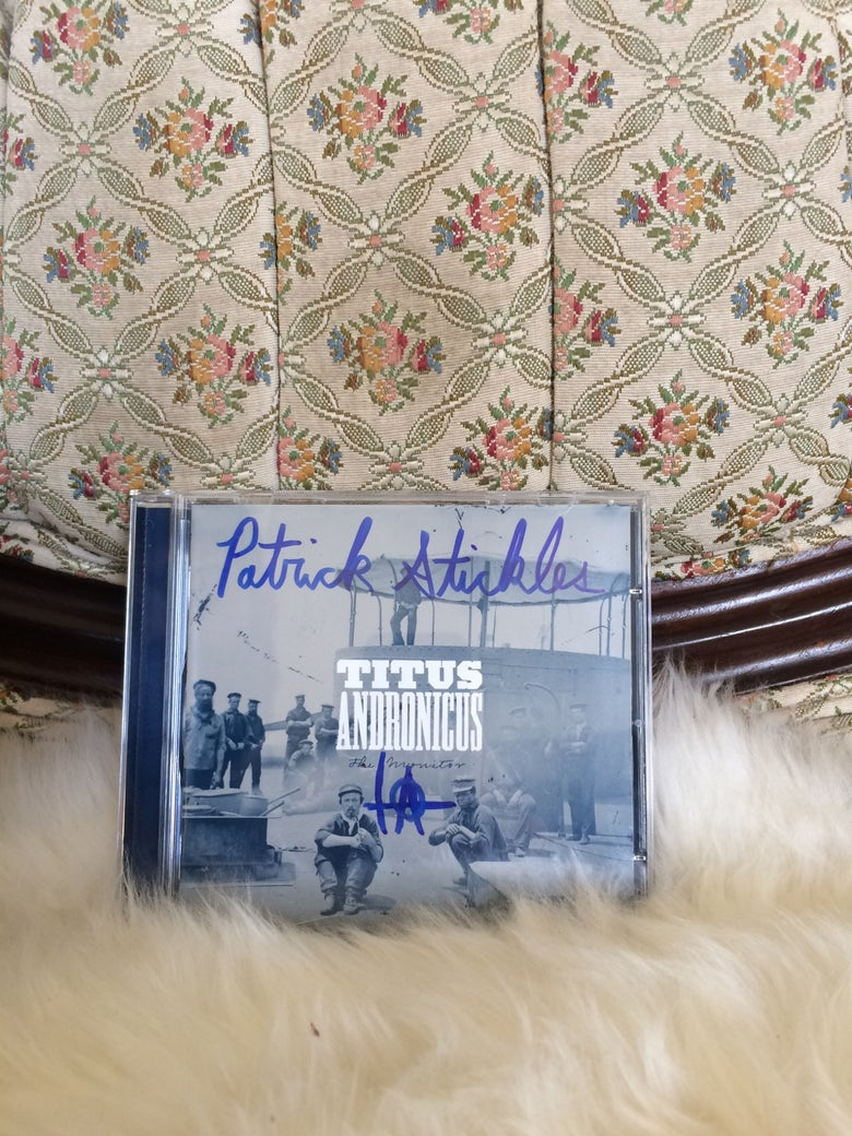 Image of 'The Monitor' CD *AUTOGRAPHED*