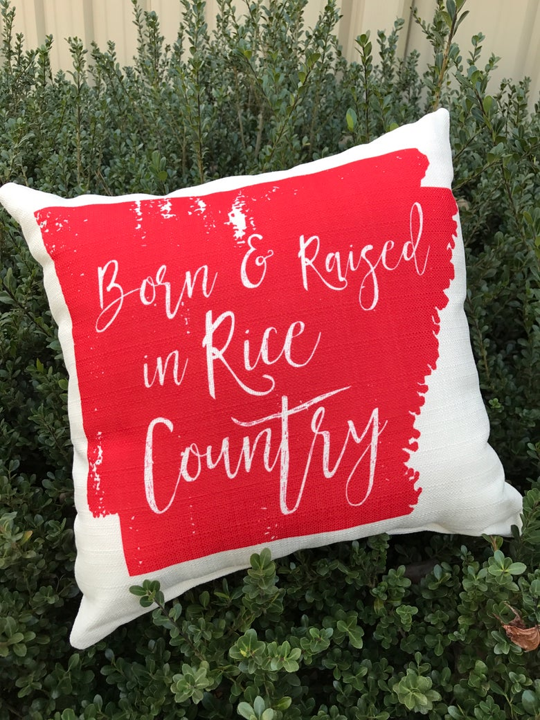 Image of Born & Raised Throw Pillow
