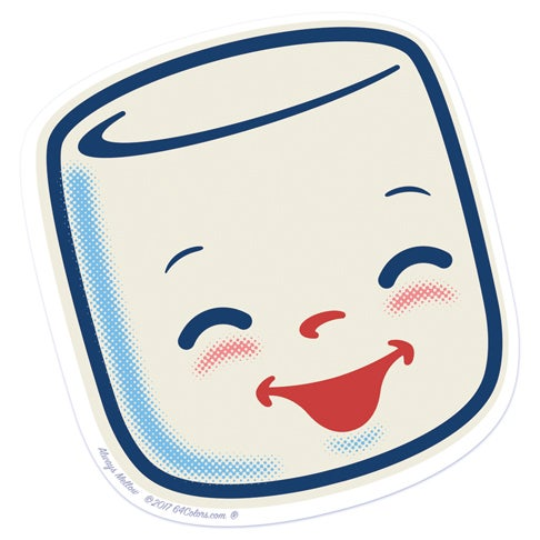 Image of Marshall Origianl Happy Sticker