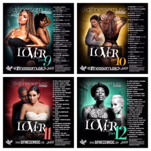 Image of FOR THE LOVER IN YOU MIX (SEX SONGS) VOL. 9-12 COMBO PACK
