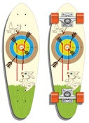 Image of Archer's Delight Mini-Cruiser Skate Deck -NEW!-