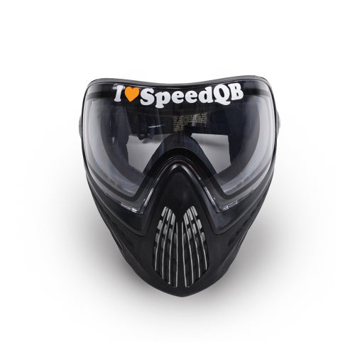 Image of I Love SpeedQB Decal - OR Orange (2)