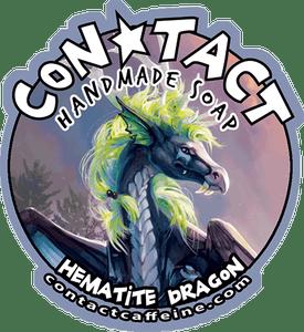 Image of Soap: Hematite Dragon - Sandalwood, Amber, Cedarwood, Vanilla