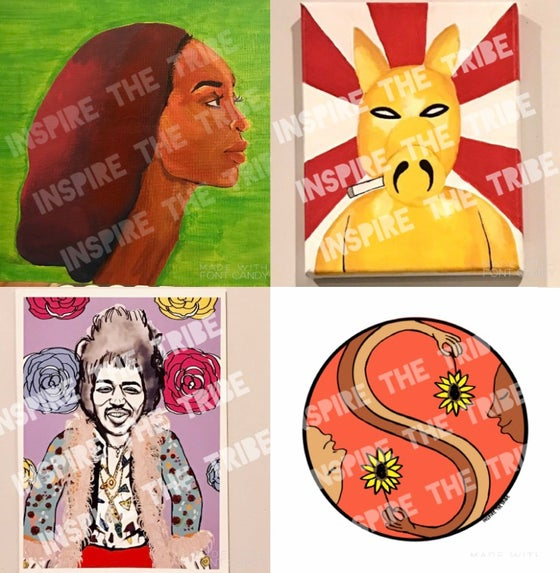Image of Inspire The TRIBE Art (Assorted 2)