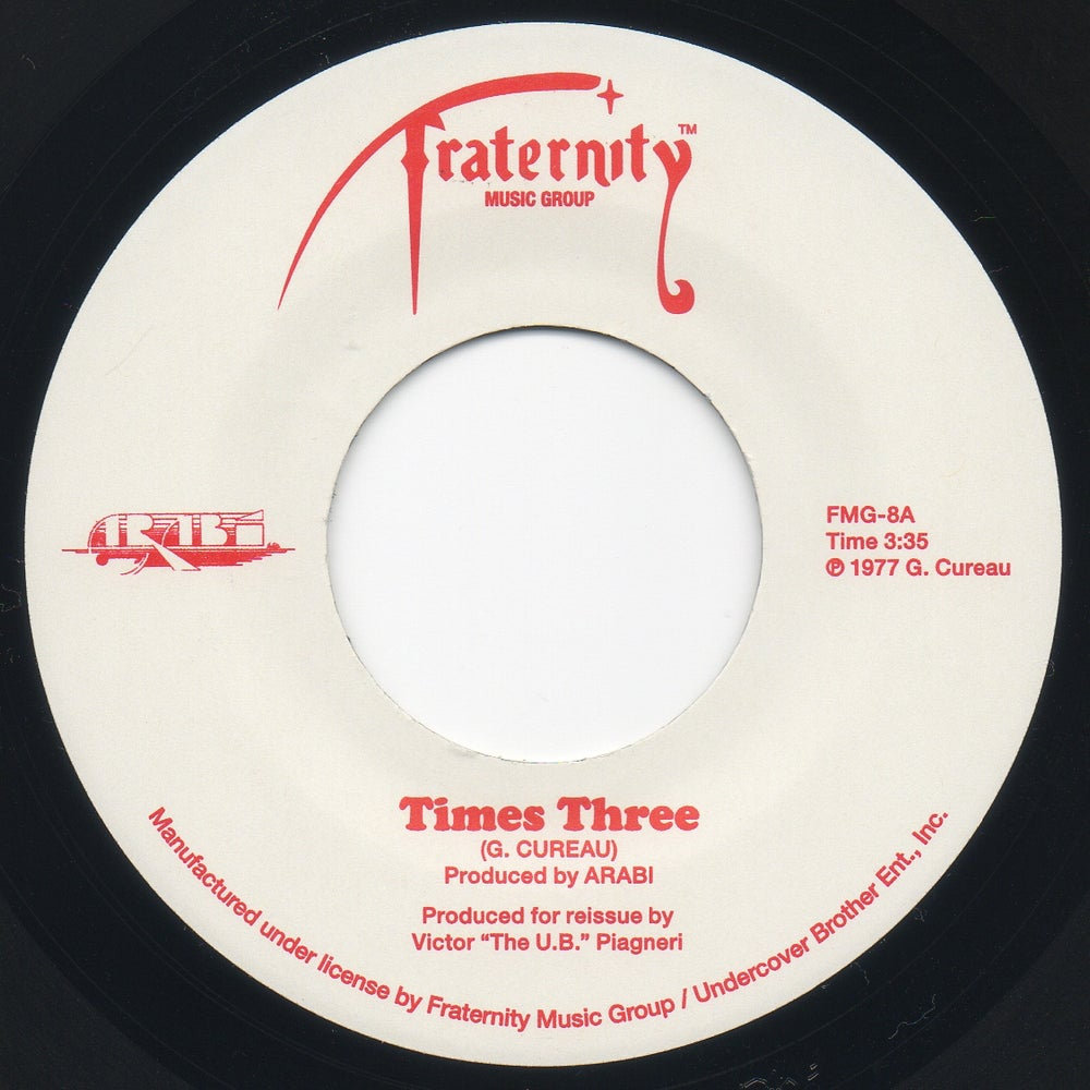 """Image of Times Three / Before It's Over - 7"""" Vinyl"""